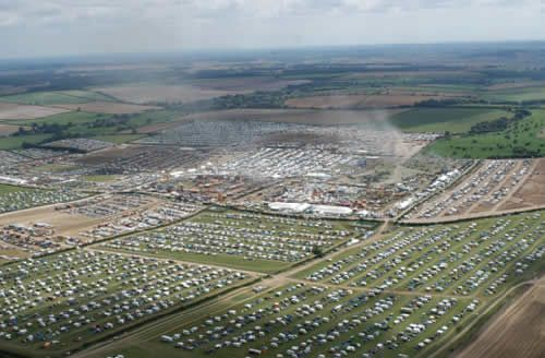 Great Dorset Steam Fair apparently costs 1 million to rent the land and they get it back in one day.