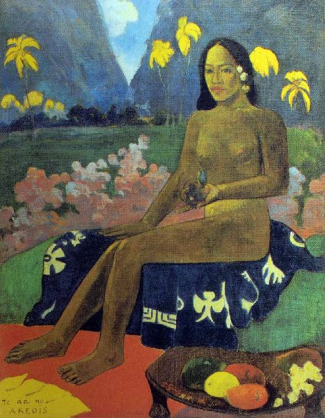 Paul Gauguin - Post Impressionism - Tahiti - Te oa no Arevi - 1892