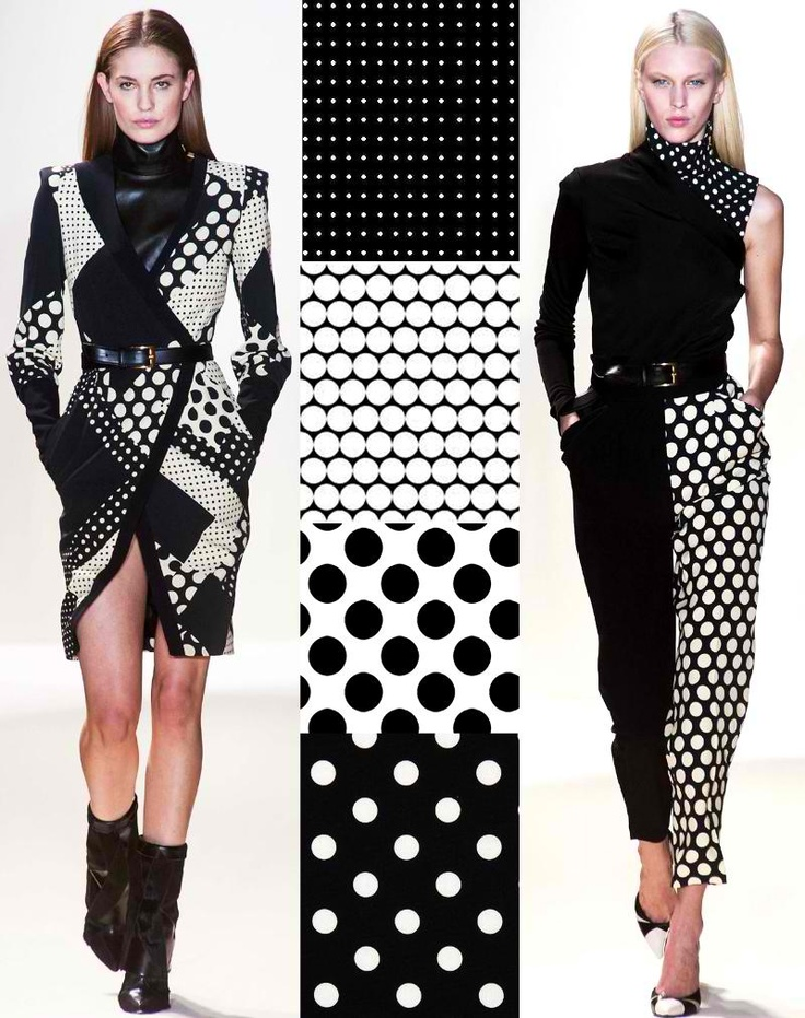 Trend Council prints in black and white