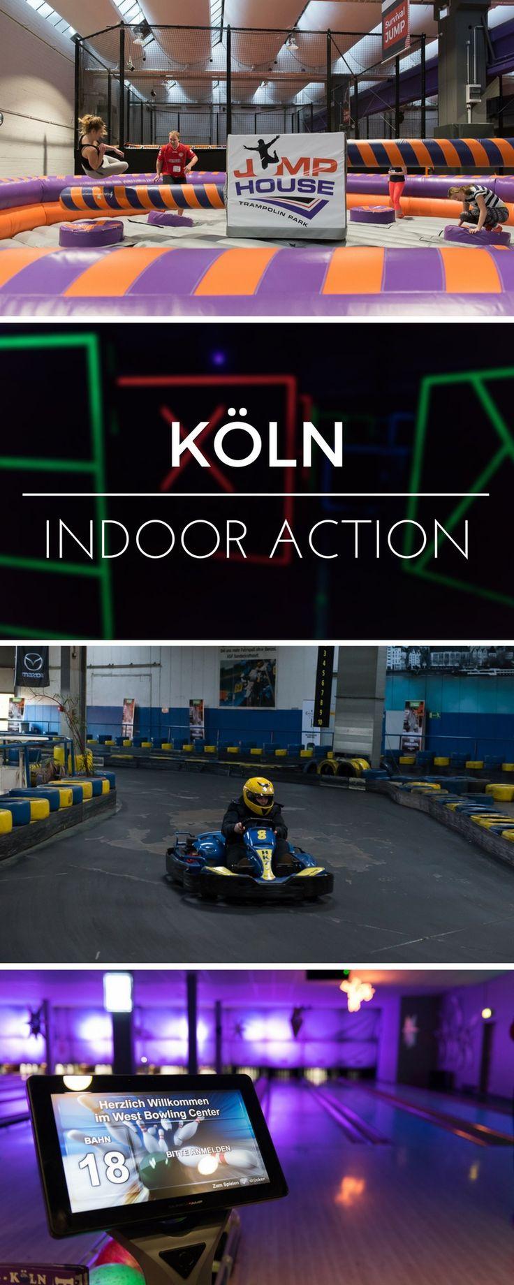 Die besten Tipps für coole Indoor Action in Köln! Ideen für Unternehmungen in Köln wenn es mal wieder regnet.