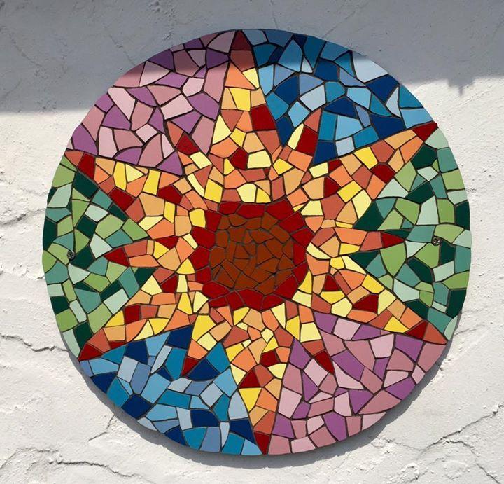 Happy summer mosaik pinterest mosaik dekoration und - Dekoration mosaik ...