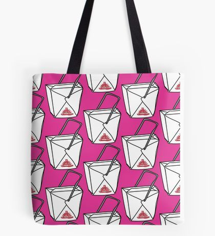 Chow Mein Tote Bag