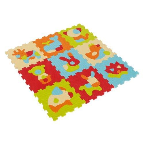 L'utilisation de ces dalles sensorielles Animaux varie selon l'âge de l'enfant. Elles sont d'abord un tapis accueillant le tout-petit. Allongé sur la mousse épaisse de ces dalles, il éveille son sens tactile en caressant chaque texture. Plus grand, l'enfant utilise les dalles une à une. Chacune d'elles est un puzzle. En reconstituant les animaux, il manipule toutes les pièces dans un sens, puis un autre. Il reconstitue les animaux à plat sur le sol ou en formant un cub...