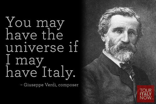 Italy quote Giuseppe Verdi