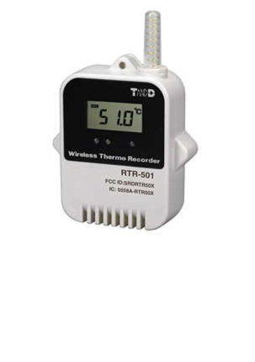 Datenlogger RTR-5 von T&D zur Temperaturüberwachung in der CNC Bearbeitung bei Otto-Junker