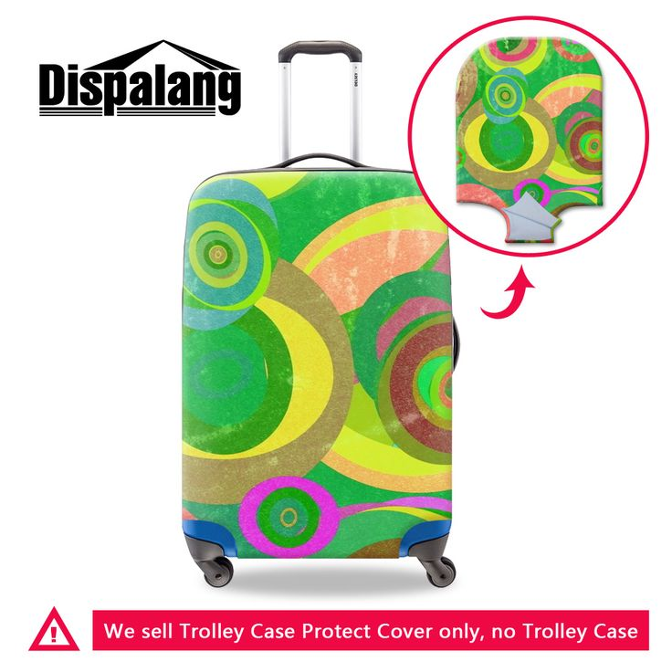 Dispalang case on suitcase for travel luggage protective covers spandex  high quality travel accessories supplies dustproof f31fa1df4c