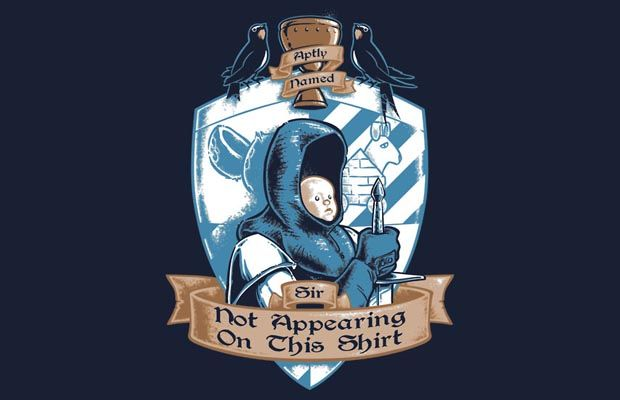 The Aptly Named Sir T-Shirt Get yours here: http://tshirtonomy.com/go/aptly-named-sir