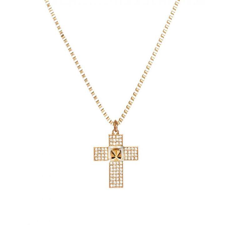 Προσφορά ASOS Bling Cross Pendant Necklace - Γυναικεία - ASOS ΠΡΟΣΦΟΡΕΣ