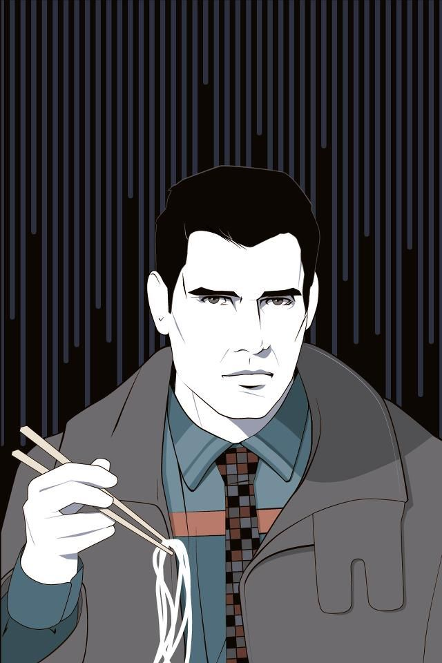 PATRICK NAGEL ART: BLADE RUNNER                                                                                                                                                                                 Mais