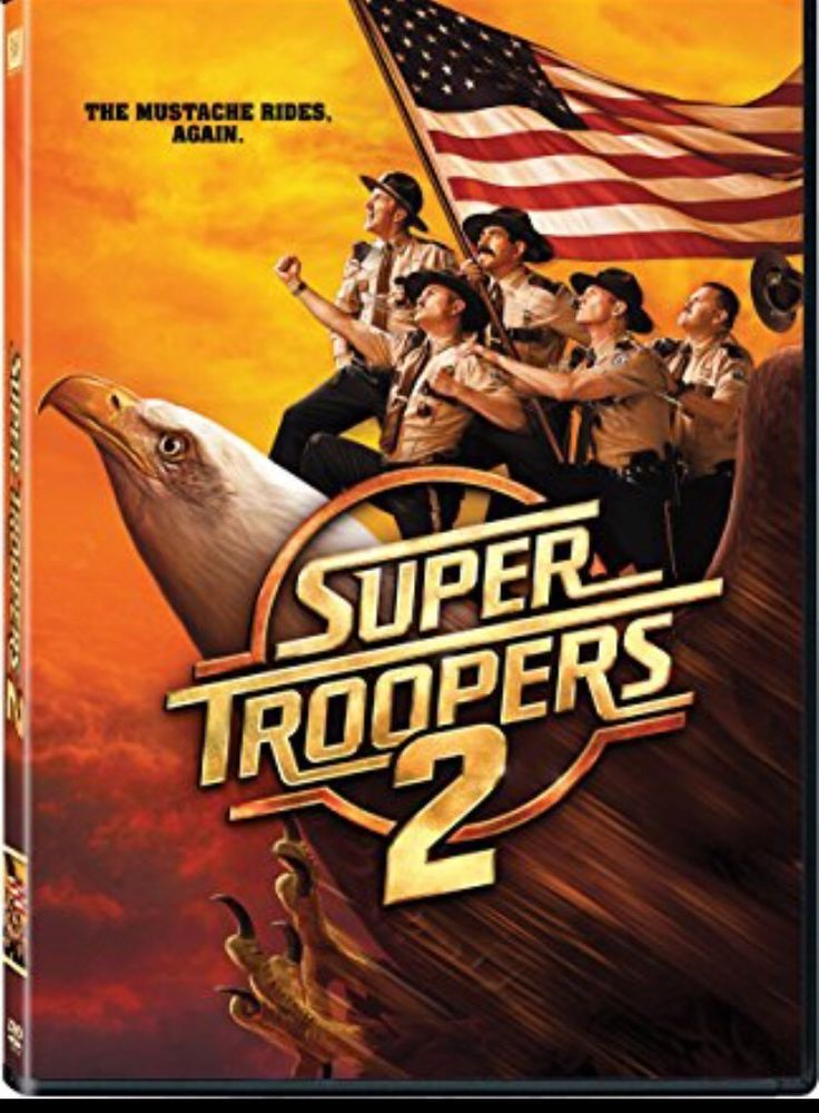 Super Troopers 2 Dvd 2018 New Comedy Free Fast Shipping