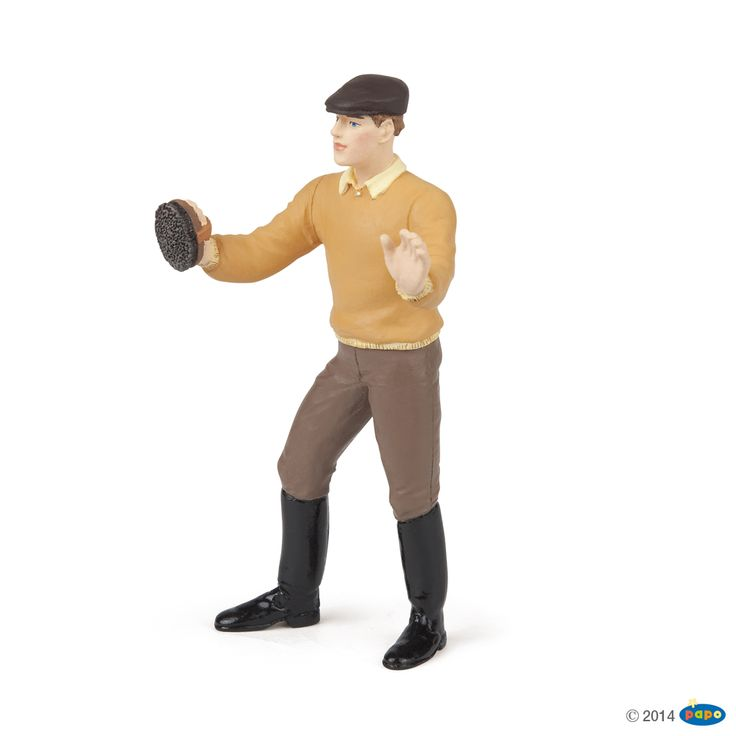 Figurine Palefrenier - Figurines CHEVAUX, POULAINS ET PONEYS