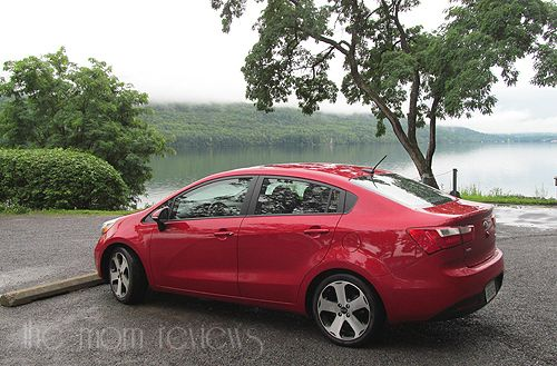 2013 Kia Rio SX Sedan Review