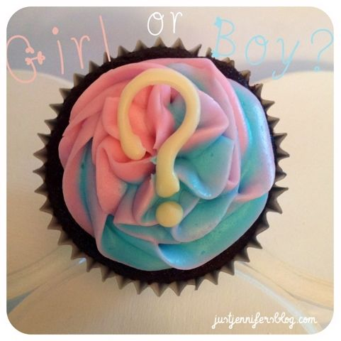 Mine did not look quite like this lol. Make sure frosting is thicker and chilled so it wont run!
