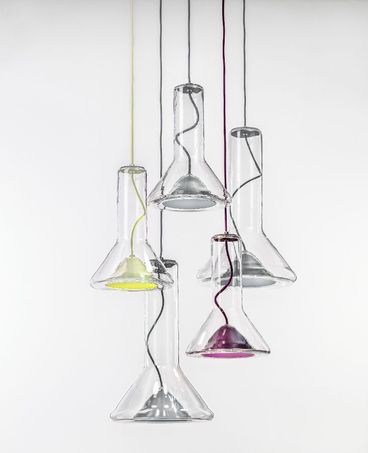 Brokis, bohemian glass becomes light - Its new collections unveiled