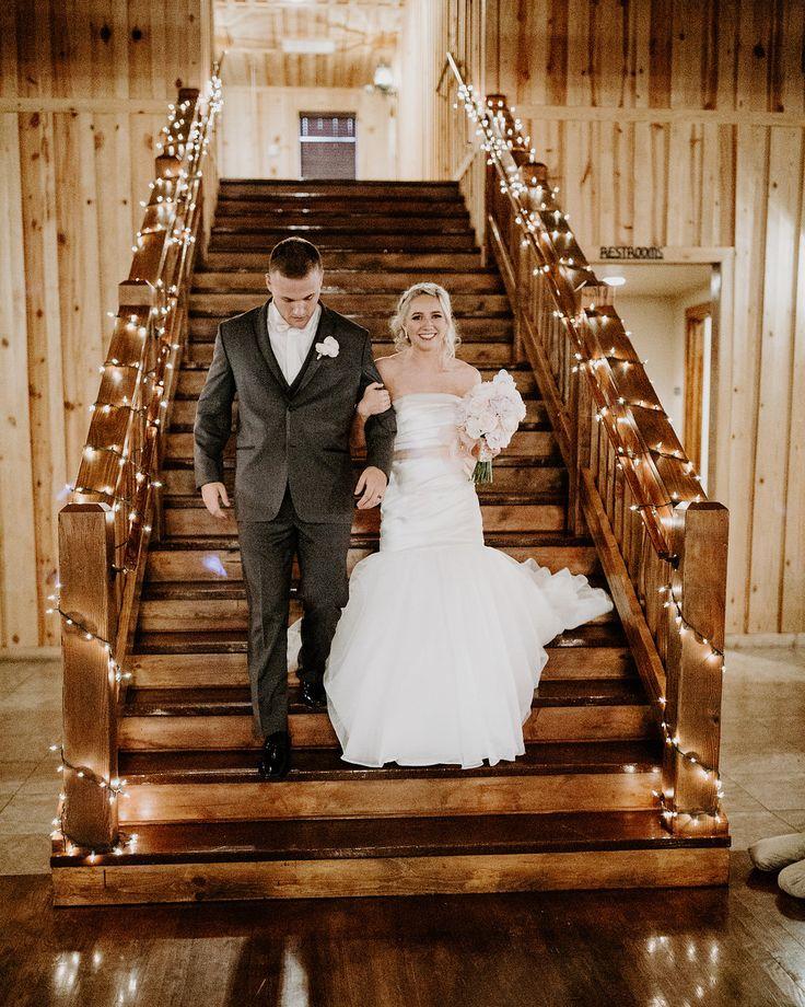 Oklahoma City Wedding Venue in Edmond Wedding staircase