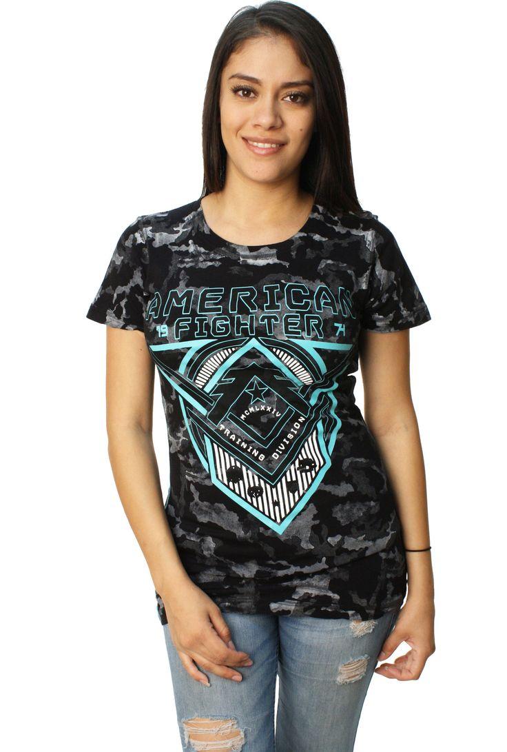 American Fighter Women's Roosevelt Short Sleeve Reflective Tech T-Shirt
