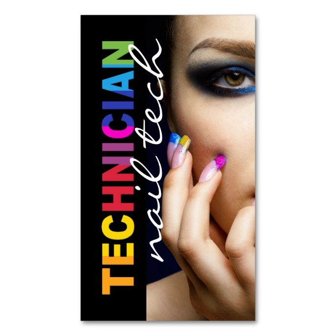 17 mejores im genes sobre nail technician business cards for 24 hr nail salon nyc