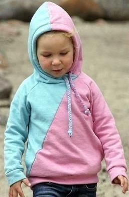 Kinder-Pullover in zwei Farben - Schnittmuster und Kinderkleidung via Makerist.de