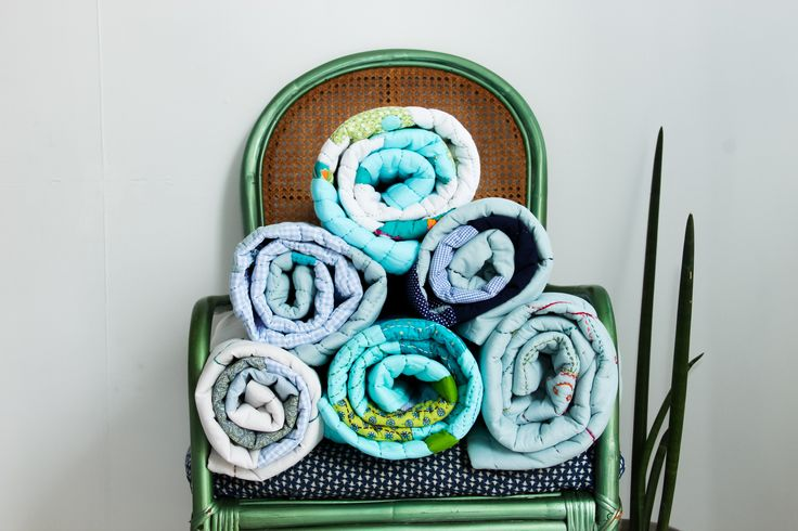 Rolled baby #quilts