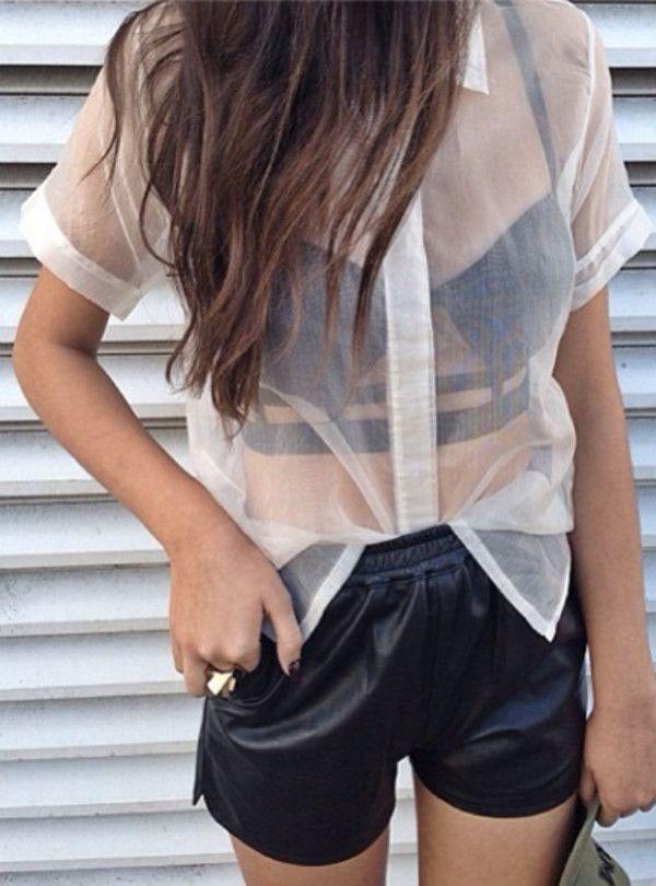 las 25 mejores ideas sobre blusa transparente en