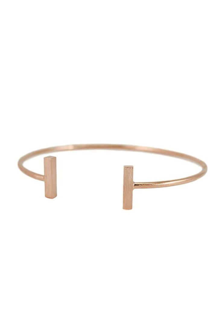 Simple and classy bar bracelet. Perfect for layering or as a statement bracelet!   Bar Bracelet by Shop for Jayu. Accessories - Jewelry - Bracelets Toronto, Canada