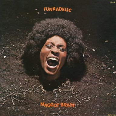 Maggot Brain By Funkadelic. Funk will always be a source for cool and special looking album covers. I got to know this one by reading about it after Awaken my love.