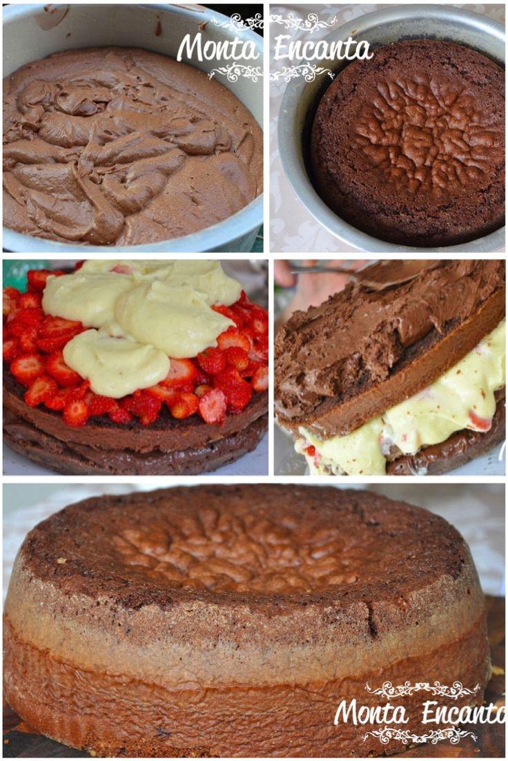 massa de bolo amanteigado, estruturada mas leve ao mesmo tempo, com sabor requintado e extremamente saborosa. Ideal para montar um Naked Cake, bolo com recheio aparente de vários andares.