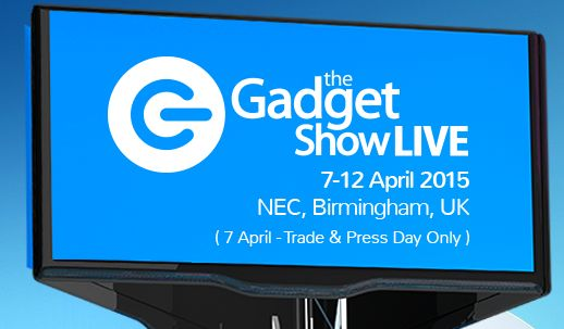 Come and see us at The Gadget Show LIVE next week! HALL 8, STAND W30. We have lots of new products to show you