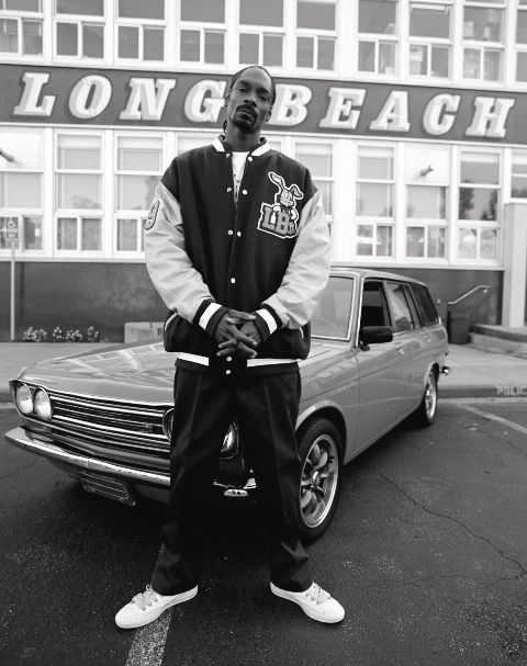 SNOOP DOGG IN LONG BEACH AT Polytechnic High School