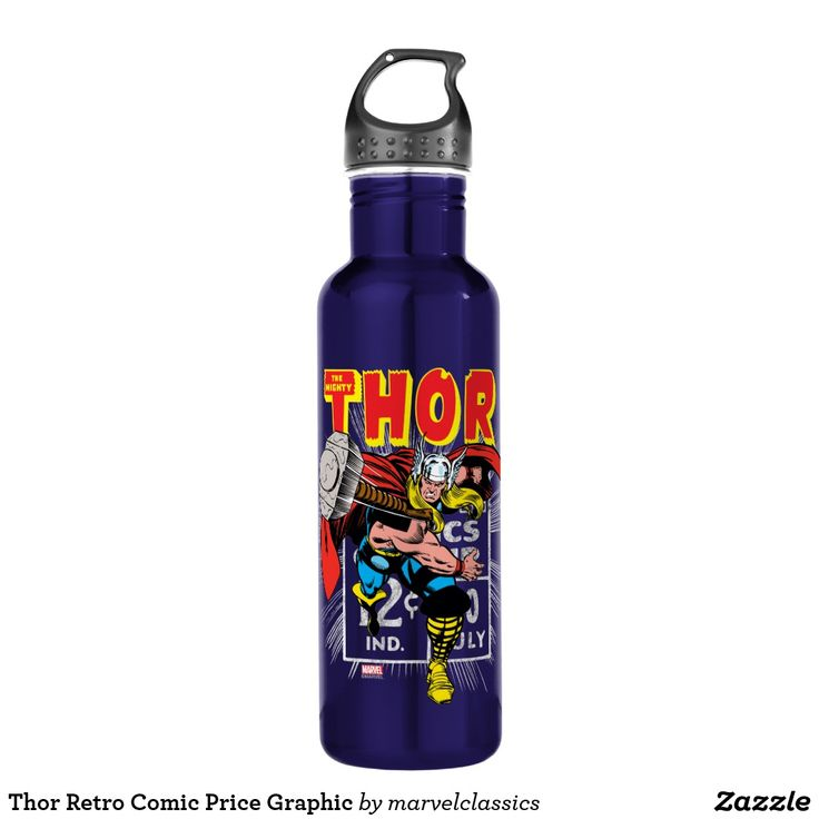 Thor Retro Comic Price Graphic