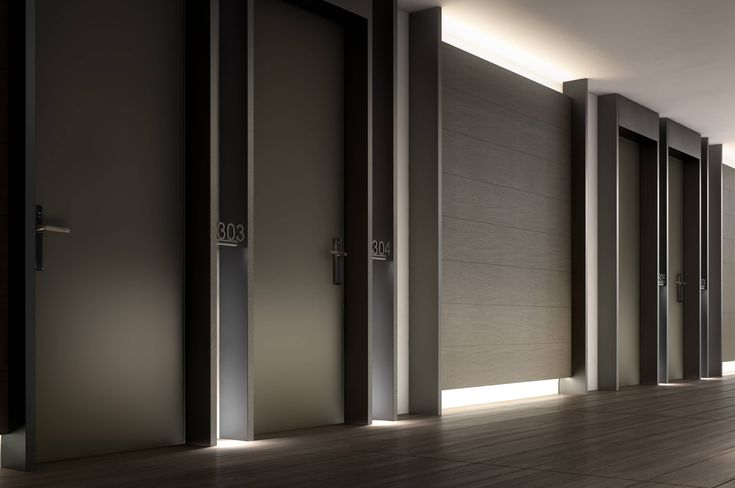 Project is a real piece of furnishing, offering versatile coplanar or flush with wall solutions, which is able to transform a common environment into a panic room.