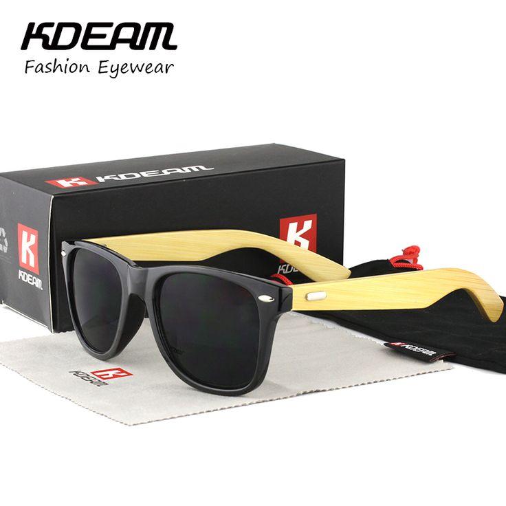 $8.39 (Buy here: https://alitems.com/g/1e8d114494ebda23ff8b16525dc3e8/?i=5&ulp=https%3A%2F%2Fwww.aliexpress.com%2Fitem%2FKDEAM-Classical-Bamboo-Sunglasses-Men-Fashion-Hand-Made-Eyewear-Women-Brand-Designer-Sun-Glasses-UV400-With%2F32725593979.html ) KDEAM Classical Bamboo Sunglasses Men Fashion Hand Made Eyewear Women Brand Designer Sun Glasses UV400 With Original case KD1501 for just $8.39