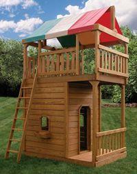 Playset Towers | Hardy Lawn Furniture | Amish Built Lawn Furniture,  Gazebos, Sheds U0026
