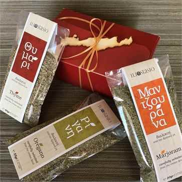 Cretan Herbs Conference Gift Set