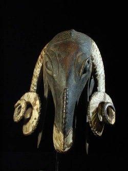 Masque Belier Baoule - Cote D'ivoire