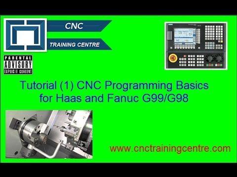 (1) CNC Program Basics Haas Fanuc Mazak ISO G99/G98 - YouTube