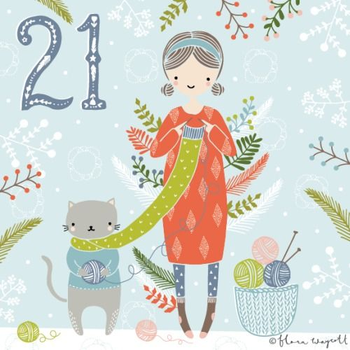 Flora Waycott Christmas Advent DAY 21 - Handmade Christmas presents are the BEST presents! xx