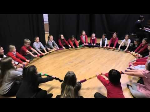 Nutcracker March with stretchy band - YouTube