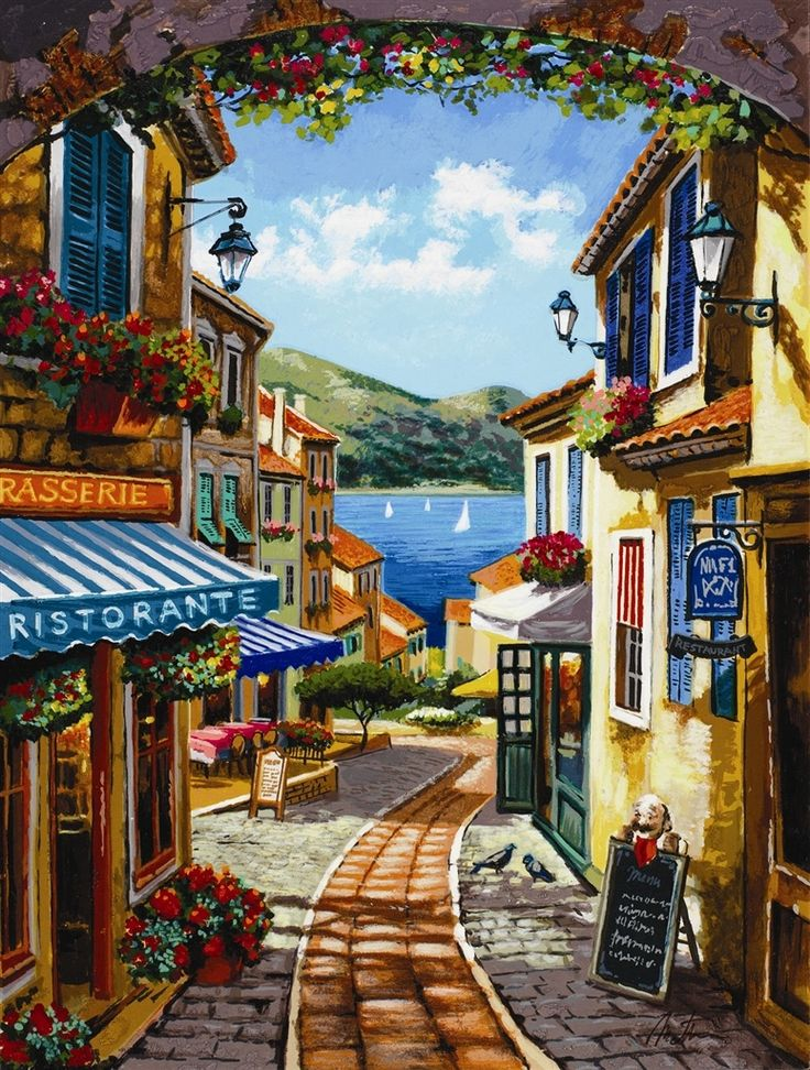 Anatoly Metlan. #Scenery #Art. For more great pins go to @KaseyBelleFox