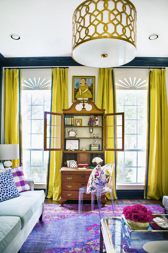 Best 25 Yellow Curtains Ideas On Pinterest