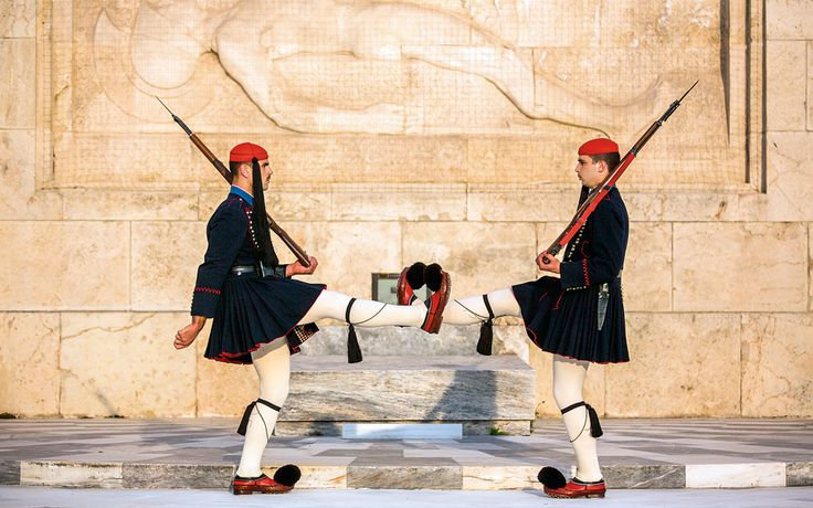The Elaborate Spectacle of the Evzones - Greece Is
