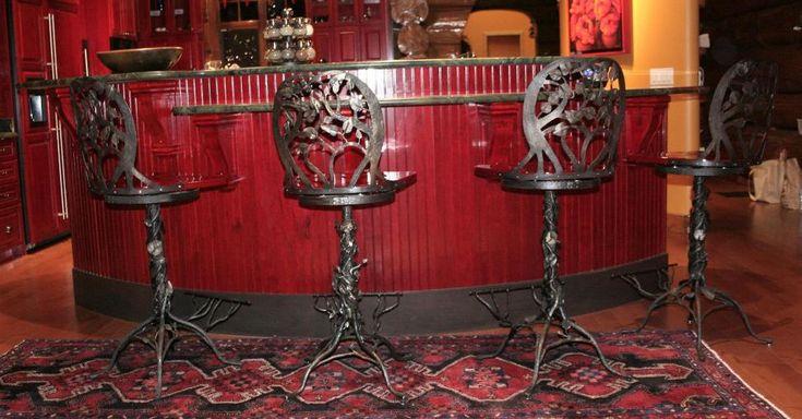 барные стулья/стулья/кованая мебель