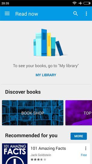Google Play Books 3.8.15 Android alkalmazás letöltés ÚJ!  A Google Play Books (Google Play Books) segítségével, könyvek milliói közül válogathatsz a Google Playen, köztük új kiadások, New York Times bestsellerek, tankönyvek vagy akár az ingyen hozzáférhető klasszikusok közül is.