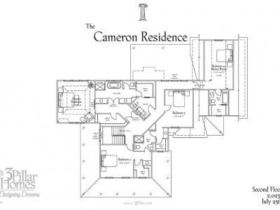 The Cameron Residence | Floor Plans | 3 Pillar Homes