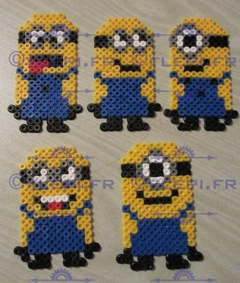 Minions perler beads by flepi