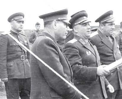 Gen. Beqir Balluku, Petrit Dume and Hito Çako, all accused of a pustch against Enver Hoxha, tried and executed, in 1975.