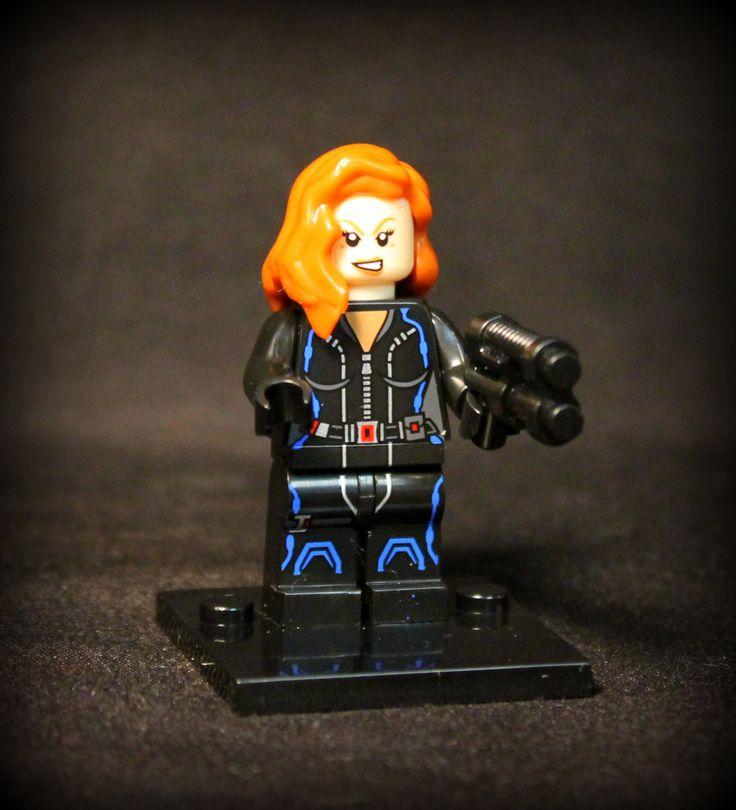 ⎡MINIFIGS FACTORY⎦ Custom Black Widow Natasha Lego Minifigure