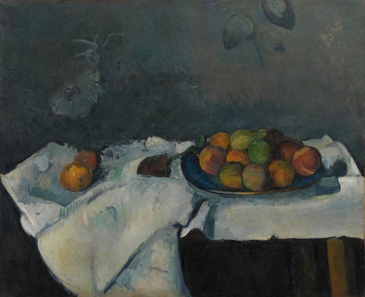 Paul Cézanne, Still Life: Plate of Peaches, 1879–80. Oil on canvas, 23 1/2 x 28 7/8 inches (59.7 x 73.3 cm)