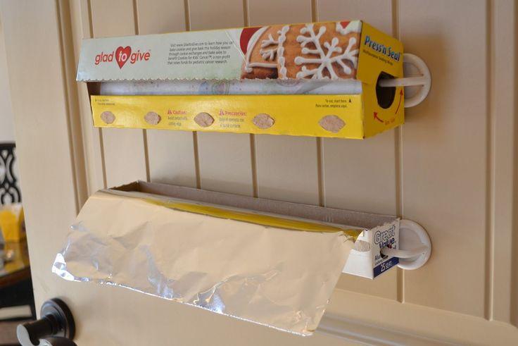 Solution for Storing Foil & Plastic Wrap