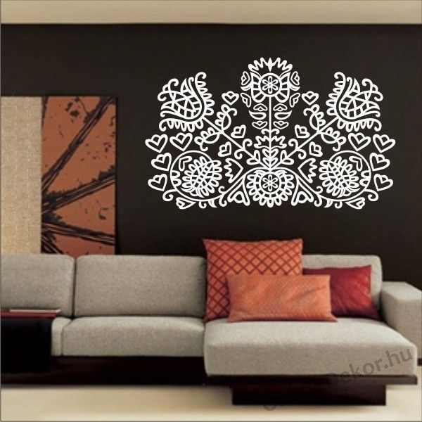 Wall Decor with hungarian pattern